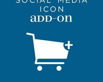 Social Media Icon Add-on