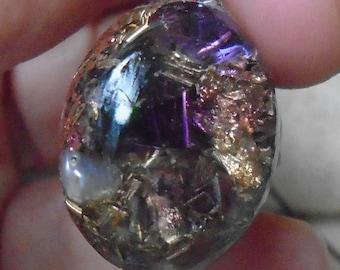 Orgonanhänger, gemstone Pendant, radiation protection, feeling of wellbeing, unique