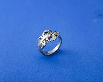 Southern Baroque Spoon Ring