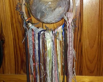 Floral dream catcher, dreamcatcher vegetable