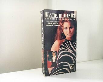 Raquel! VHS - 1970 CBS Raquel Welch TV Special - The Raquel Welch Show