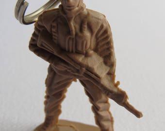 Army man keyring