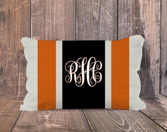 Oregon State University Pillow, Personalized OSU Pillow, Preppy OSU Pillow, Monogrammed OSU  Pillow, Oregon State University Dorm Decor