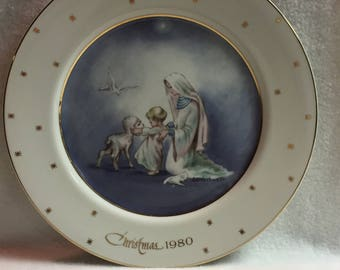Eve Rockwell Collector Plate - Christmas 1980 (#214)