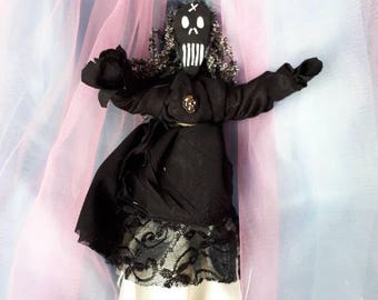 Authentic Voodoo Doll Handmade New Orleans Inspired Vodou Doll Healing Strength Poppet Original Art Doll Protection Doll