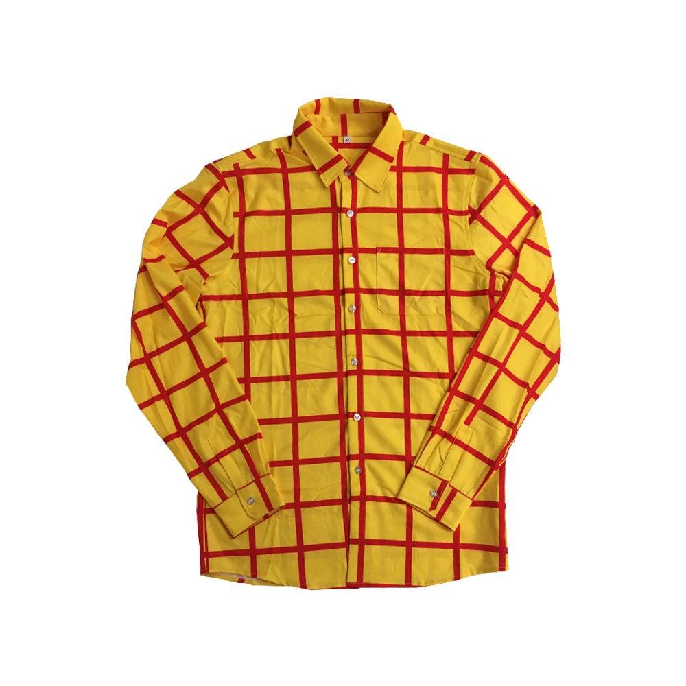 Long Sleeve Striped Shirt Mens