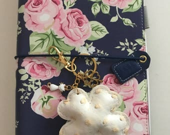 Apple keychains, charms, bijoux bag, planner charms