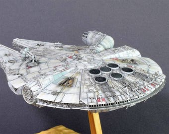 Millenium Falcon 1/144 star wars model space ship gift Souvenir