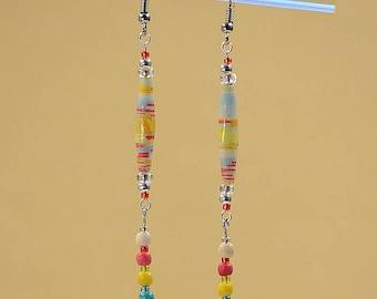 Rainbow Fiesta Dangle Earrings #462