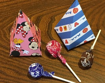 Mickey & Minnie Party Favors - Disney Themed Cones