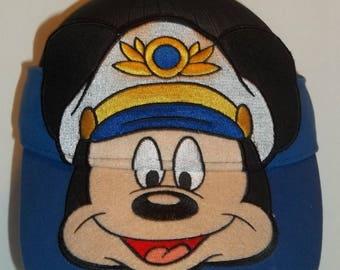 Youth Hat Mickey Mouse Sun Visor Hat Disney Cruise Line Fun Kids Apparel Nautical Accessories Boat Visor Yacht Ships Sea Captain T35 JN7013