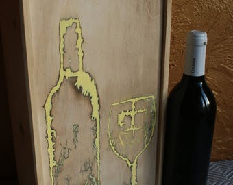 Wooden wine packages