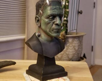 Frankenstein's Monster Inspired Bust