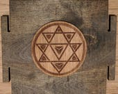 Nava Yoni Yantra Stickers - Circle and Eye