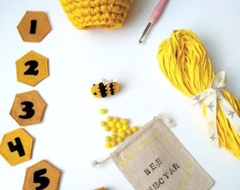 DIY Montessori Counting Activity