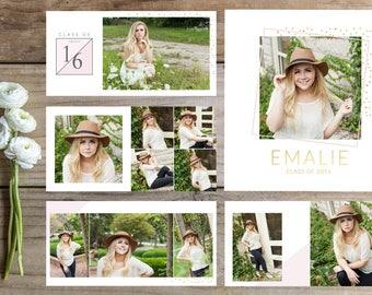 Senior Album Template. Senior Book. Photography Template. Graduation Book Template. Senior Girl Album. 10x10 Album Template.