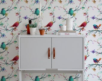 Bird Wallpaper Amazing Bird Wallpaper  Etsy Design Ideas