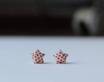Chinese Star earrings