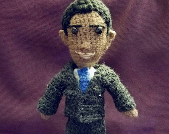 crAFTy Characters: Barack Obama doll // the American Presidents Collection