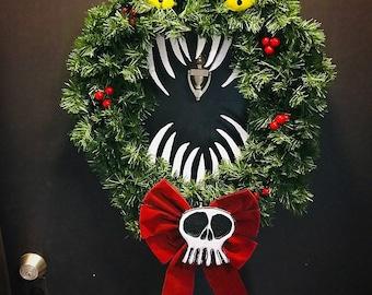 Nightmare Before Christmas Holiday Wreath