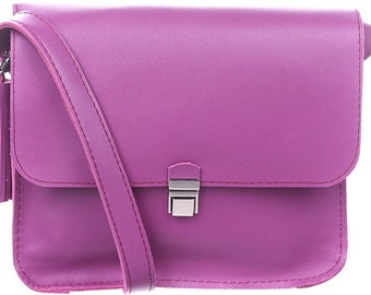 Woman crossbody/ Leather woman bag/ Purple leather clutch/Woman purse/Woman holder/Handmade bag/Modern clutch/Stylish clutch/Fashion clutch