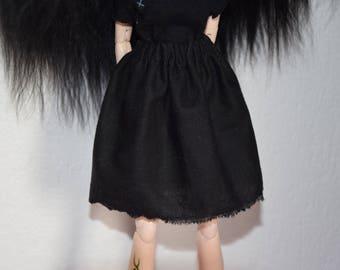 black skirt - pullip