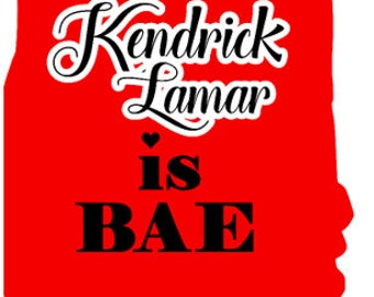 Kendrick Lamar is BAE