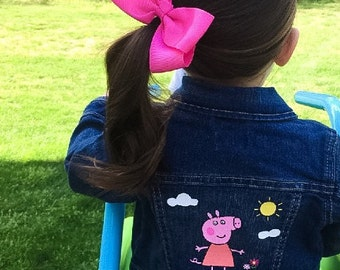 Peppa Pig Character Jean Jacket/Jeans