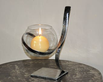 candle holder wrought iron (REF BF 09)