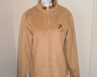 Disney strore women jacket / light brown / 90