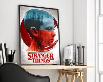 Stranger Things | Eleven | Alternative Poster Print Design | A0 A1 A2 A3 A4