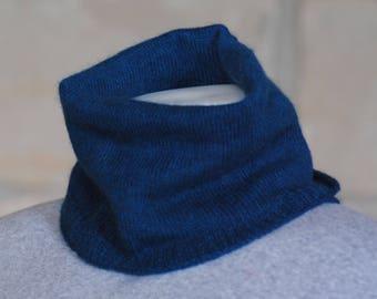 Qiviut/merino wool/silk Cowl/ Gaiter