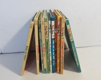 Vintage Dr. Seuss Book Lot Beginner Books Reading Homeschool Lot of 11
