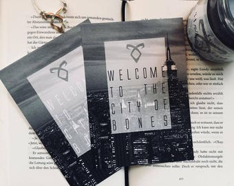 Shadowhunter City of Bones Postcard