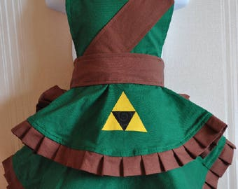 SALE 40% OFF Cosplay Legend of Zelda-Link Child's Apron