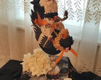 Halloween Midnight Crow Ride Centerpiece