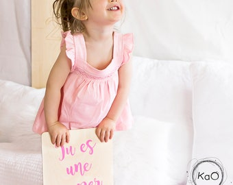 Wooden wall poster - you're a great mom