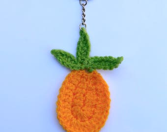 Crochet Pineapple keyring