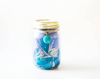 Blue Raspberry Jolly Rancher Candle (16 Oz.) - Candy Scented Candle - Mason Jar Candle - Handmade Candle - Scented Candle - Hand Poured