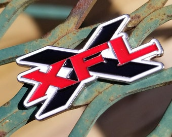 Classic XFL Enamel Pin