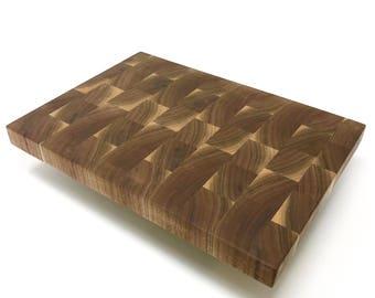 End Grain Walnut Premium Cutting Board
