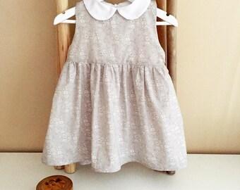 Sienna dress, dress liberty, Peter Pan collar dress