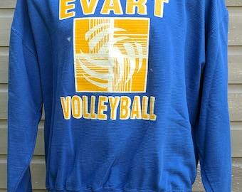 Vintage 90s Evart Volleyball Sweatshirt