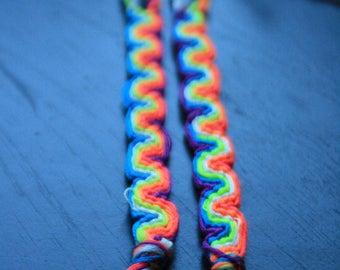 Neon Wave Bracelet