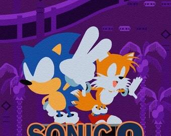 Sonic The Hedgehog 2 - Sega MegaDrive/Genesis print (#005)