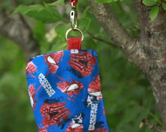 Spiderman Wristlet/Clutch