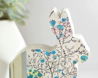 Custom Made Bunny Rabbit Home Decor Book