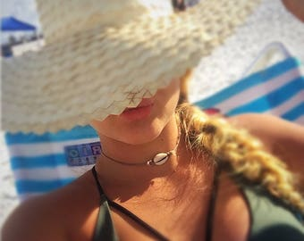 Cowrie Shell necklaces by Liliana on the Beach