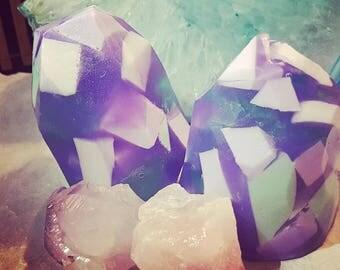 Eucalyptus Mint Gemstone Soap