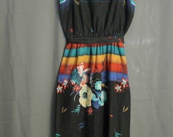 Jerell of Texas 70's Women's Strap Dress